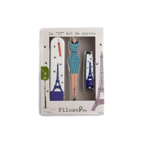 Kit de survie Filosofille Paris Sofie