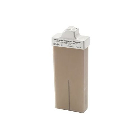 Cartouche de cire roll-on UKI chocolat embout maillot/aisselles