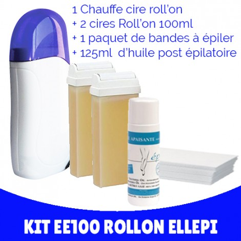 Kit d'épilation éco ELLEPI