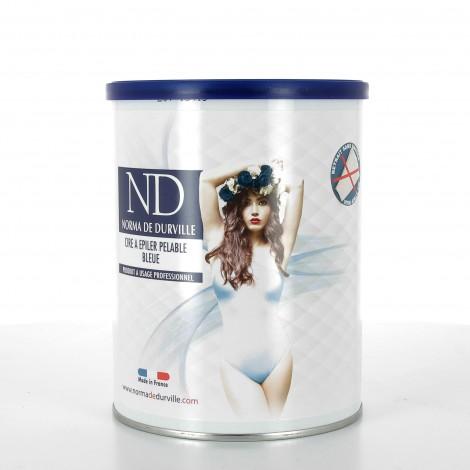 Cire pelable bleue en pot Norma de Durville