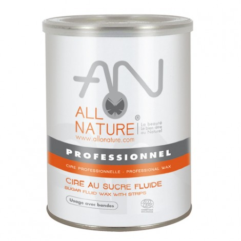 Pot de cire au sucre fluide bio AlloNature 1Kg