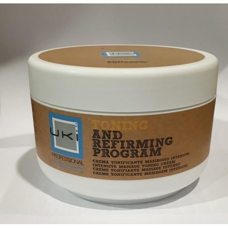Crème de massage tonifiante intensive Uki 500 ml