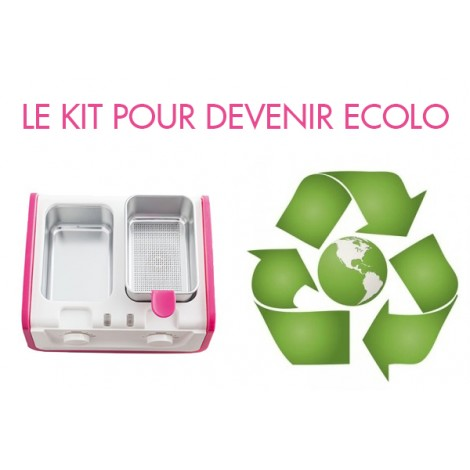 KIT EPILATION ECOLO CIRE RECYCLABLE