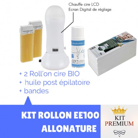 KIT EPILATION ROLLON EE100LCD PREMIUM