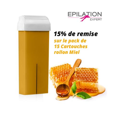 PACK 15 ROLLON MIEL -15%
