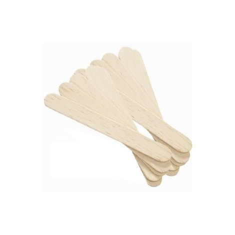 Spatules en bois x 100 unités