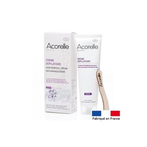 Creme dépilatoire corps Acorelle 150 ml