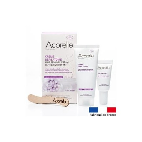 Hair removal cream for sensitive areas Acorelle 75 ml